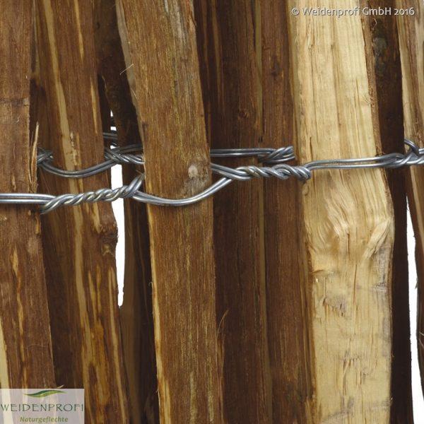 Staketenzaun Hasel gespalten 3 Meter lang