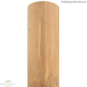 Holzpfosten Kiefer rund, gebeizt, Ø 8