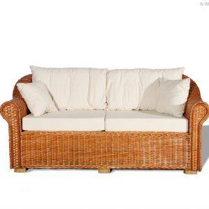 Weidenmöbel CLASSICO, Lounge-Couch, 3-Sitzer