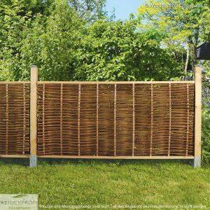 Gartenzaun Weide LATO Standard, mit seitlichem Rahmen