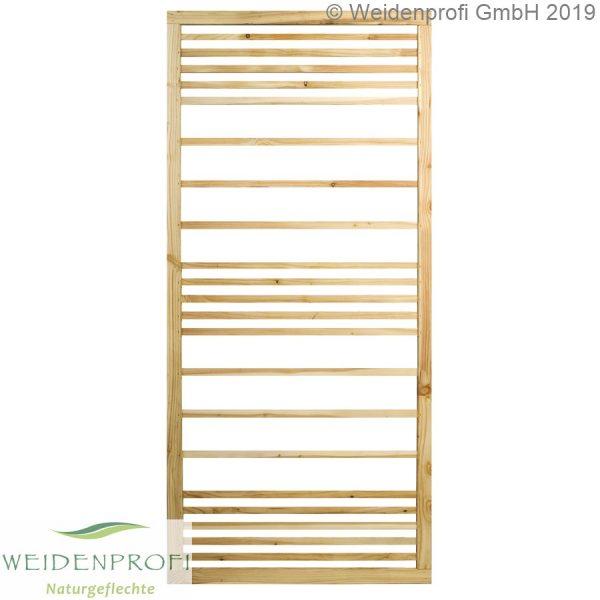 Zaun-Modul Rankgitter Lärche, horizontal, 90 x 180